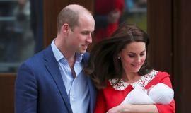 Kate Middleton e Príncipe William deixam maternidade com novo bebê