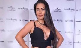 Simone usa decote devastador em evento: 'Me sentindo linda'