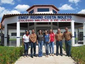 Escola Militar de Bombeiros apresenta resultados à Semed .