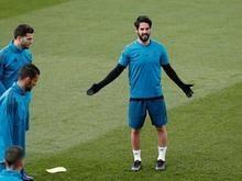 Real Madrid faz último treino antes de decidir a vaga na final