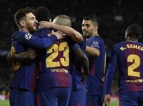 Barcelona goleia a Roma e se aproxima da semi da Liga dos Campeões