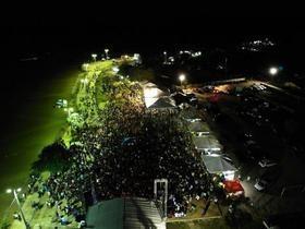 Multidão lota balneário na Semana Santa de Juazeiro do Piauí