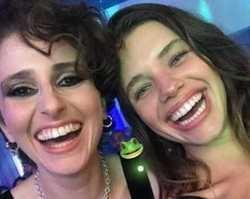 """Carol Duarte e Bruna Linzmeyer se encontram: """"Sapas lindas"""""""