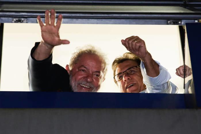 Lula e Luis Marinho