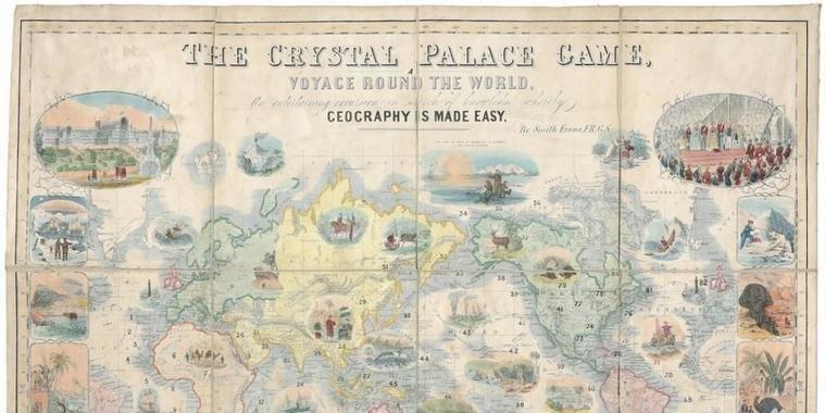Conheça jogos de tabuleiro do século 19 que são obras de arte