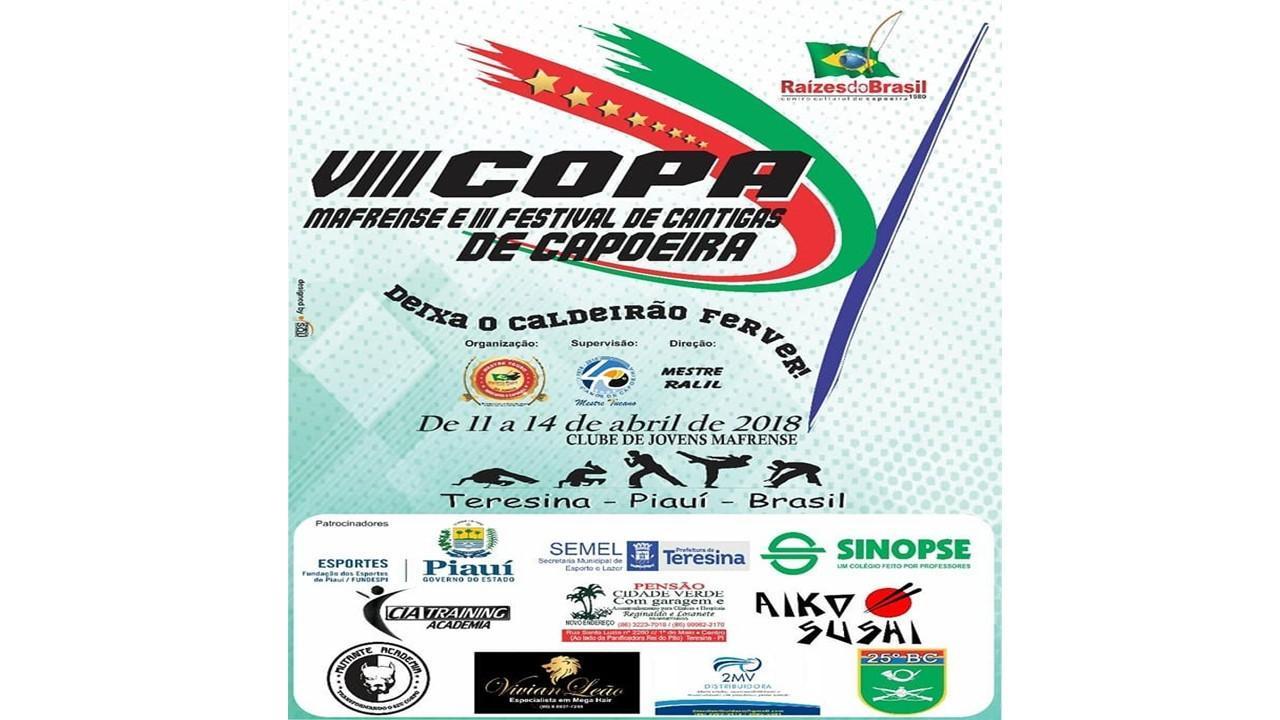 Copa Mafrense de capoeira movimenta a agenda cultural de Teresina f342cdf872