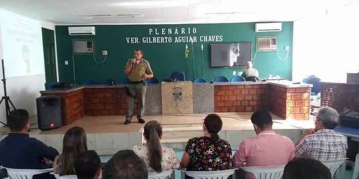 Polícia Militar e Prefeitura de Esperantina lançam projeto Pelotão