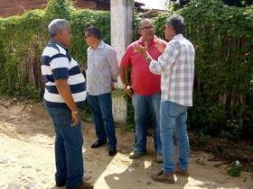 Prefeitura de Ilha Grande dá inicio a pavimentação poliédrica.