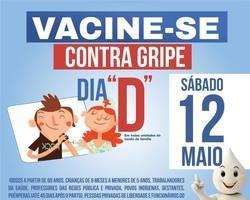 Esperantina vai realizar dia D de vacinação contra gripe