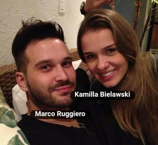 Kamilla e o atual namorado de Zilu