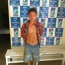 GPM de Betânia-PI, recupera moto  e prende autor do furto