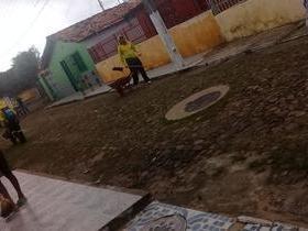 Prefeitura de Ilha Grande promove mutirão da limpeza.