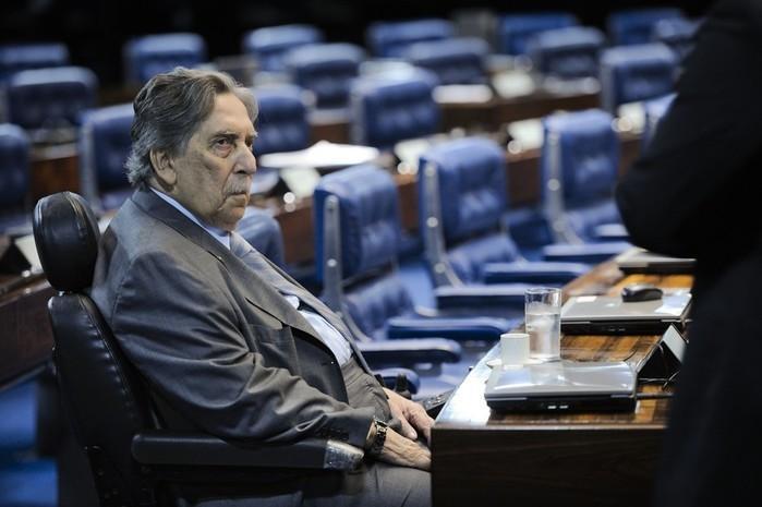 Ex-governador do Maranhão, Epitácio Cafeteira (Crédito: Pedro França/Agência Senado)