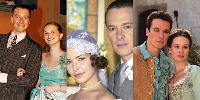 Atrizes que fizeram par romântico com Faro em novelas (Crédito: Divulgação/ Globo )