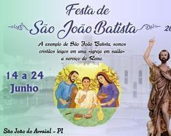 Divulgada a programação dos Festejos de São João do Arraial