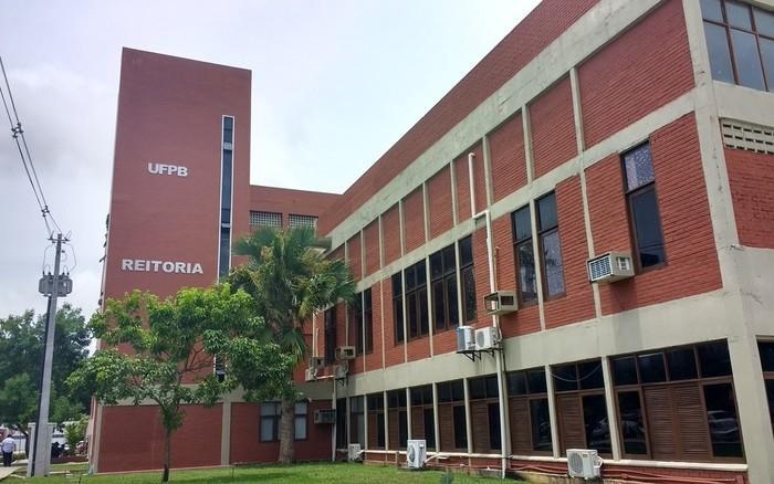 Reitoria da Universidade Federal da Paraíba (UFPB)  (Crédito: Krystine Carneiro/G1)