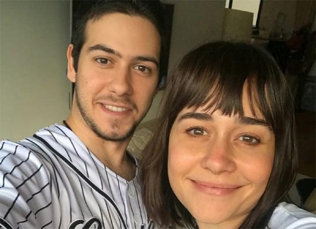 Alessandra Negrini e o filho Antônio  (Crédito: Reprodução/ Instagram)
