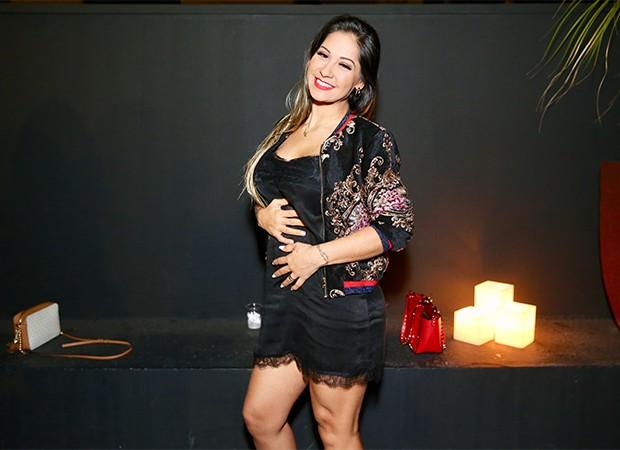 Mayra Cardi no show de Cleo Pires (Crédito: Manuela Scarpa/Brazil News)