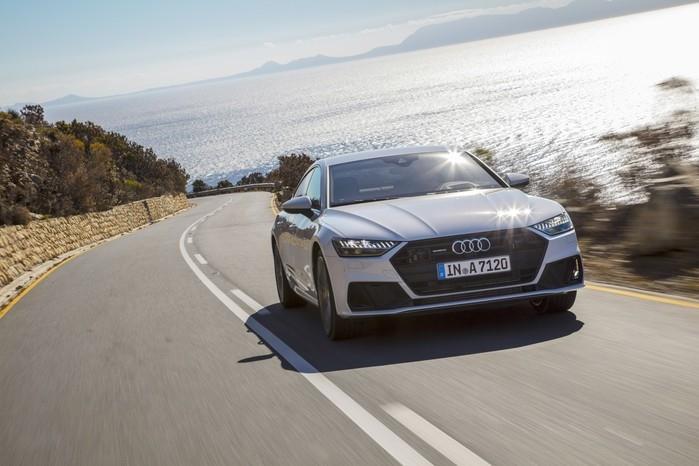 Audi A7 acelera de 0 a 100 km/h em 5,3 segundos (Crédito: Divulgação)