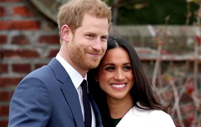 Os noivos, príncipe Harry e Meghan Markle  (Crédito: Reprodução)