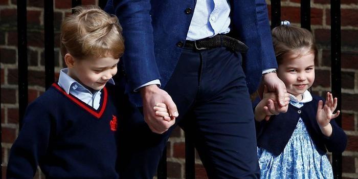 George e Charlotte serão pajem e dama no casamento de Harry