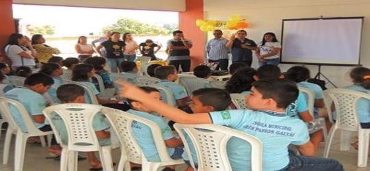 Município  realiza atividades da Campanha 18 de Maio no Cristo Rei