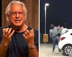 Antônio Fagundes nega ser homem que aparece apanhando em vídeo