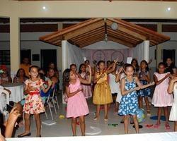 Escola Santa Catarina Realizou Homenagem as Mães