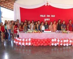 Escola Liberato Vieira Realizou Comemoração Para as Mães