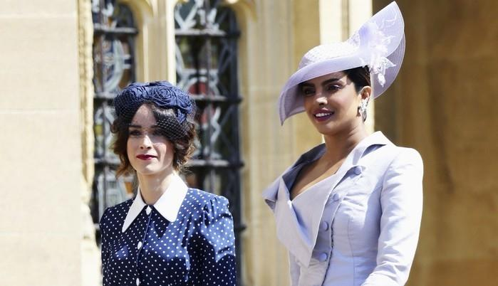 Abigail Spencer e Priyanka Chopra  (Crédito: Chris Jackson/pool photo via AP)
