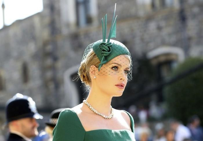 Kitty Spencer, prima de Harry (Crédito: Gareth Fuller/Pool via AP)