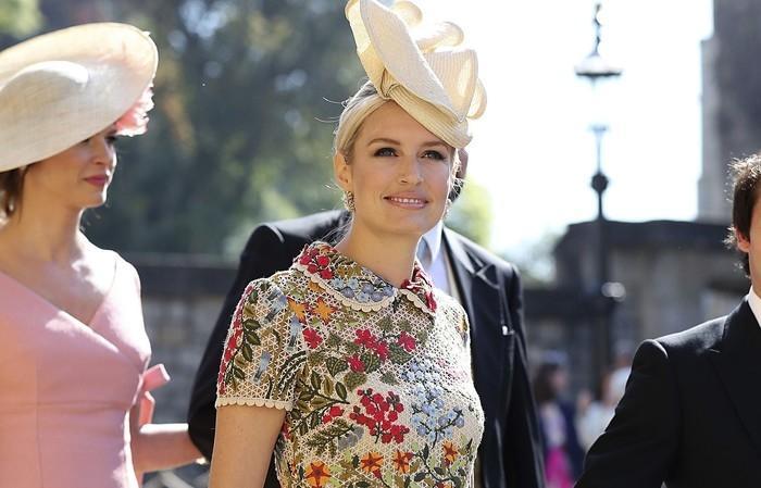 Sofia Wellesley, esposa do cantor James Blunt  (Crédito: Gareth Fuller/AP)