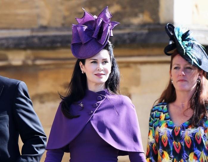 Karen Spencer, esposa do conde Charles Spencer, irmão da princesa Diana  (Crédito: Chris Jackson/Pool via REUTERS)
