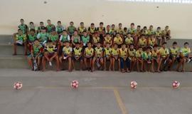 Projeto Feras da bola, craques na escola