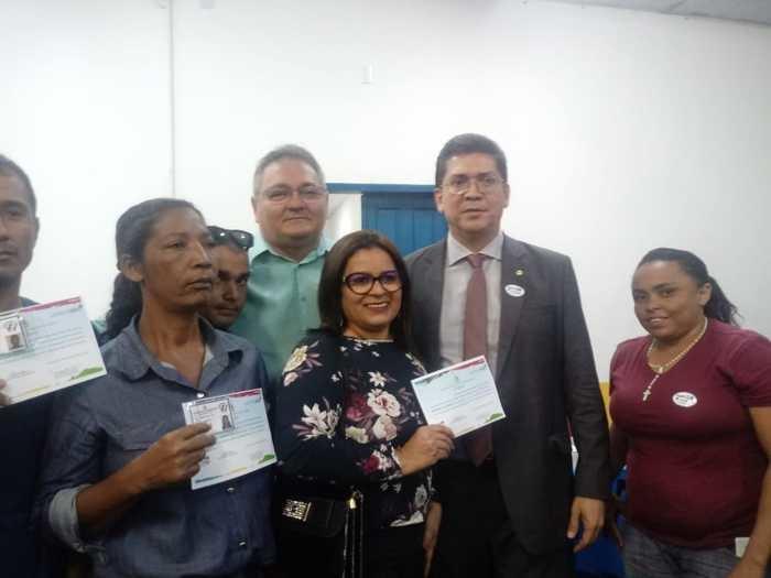 Conselheiros de Parnarama com o Secretário Jefferson Portela (Crédito: Aristeu Carvalho)