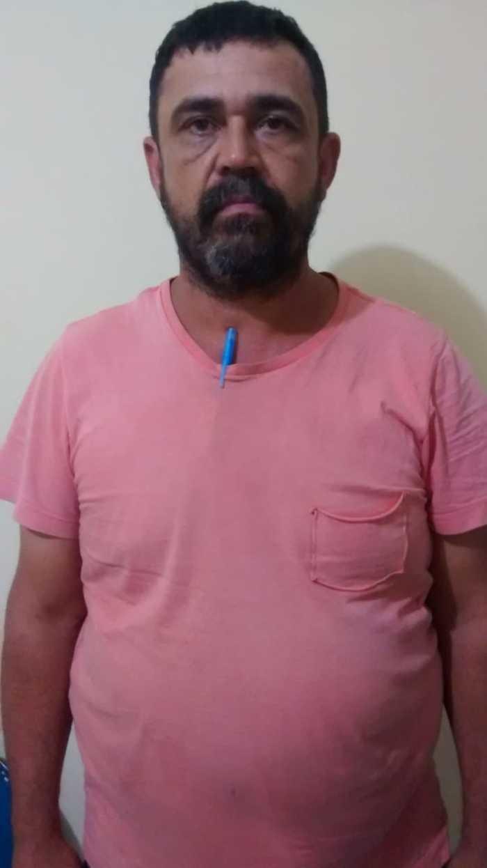 Motorista preso, Márcio Roberto Silva (Crédito: Policia Civil de Parnarama)