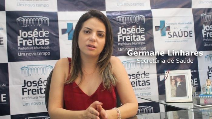 Germane Linhares - Séc. de Saúde (Crédito: Mikelson Deivid)