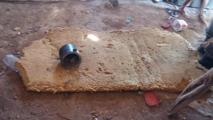 objetos utilizados pelos meliantes (Crédito: Ronaldo Figueiredo )