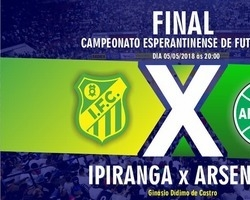 Final do campeonato esperantinense de futsal