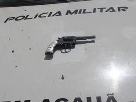 Acauã-PI PMs prendem homem com vasta ficha criminal por asalto