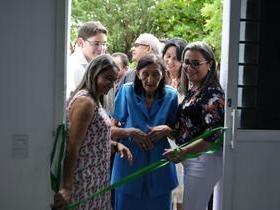 Vilma Amorim  inaugura centro de especialidades odontológicas