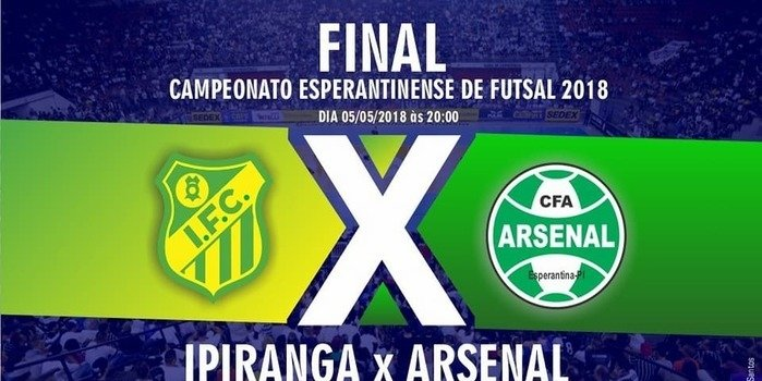 Final do campeonato esperantinense de futsal
