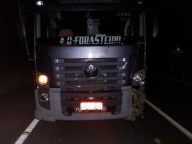 Paulistana-PI: Motoqueiro atropelado por caminhão morre no local