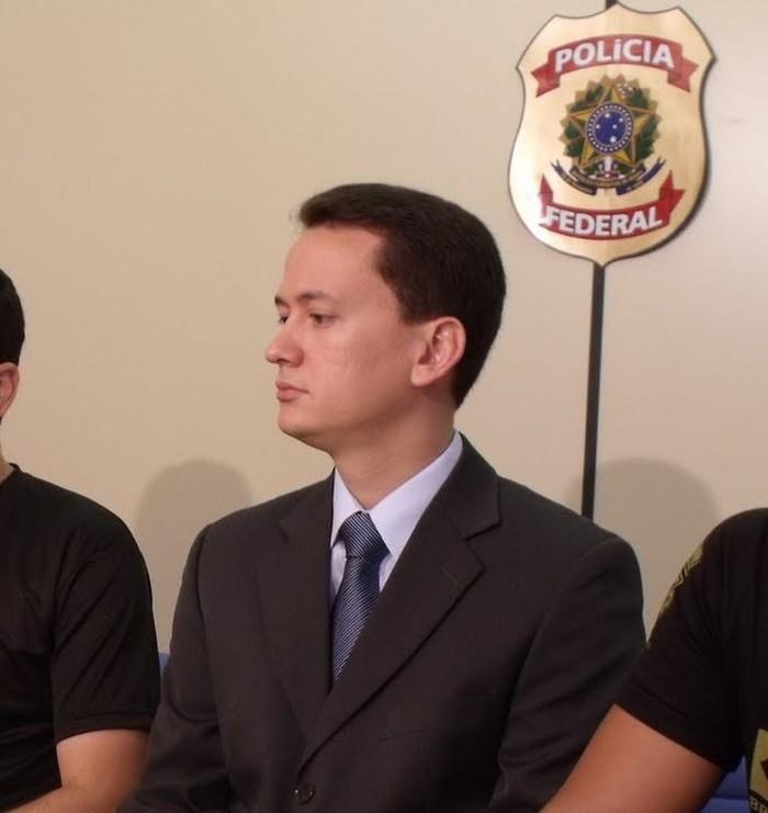 Delegado da Polícia Federal, Davi Aragão, vítima de latrocínio no Maranhão  (Crédito: Divulgação)