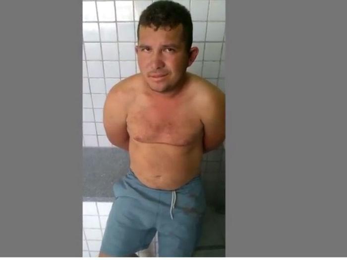 Pedro Amilton da Silva confessou ter matado Joana Darc (Crédito: Rede Meio Norte)