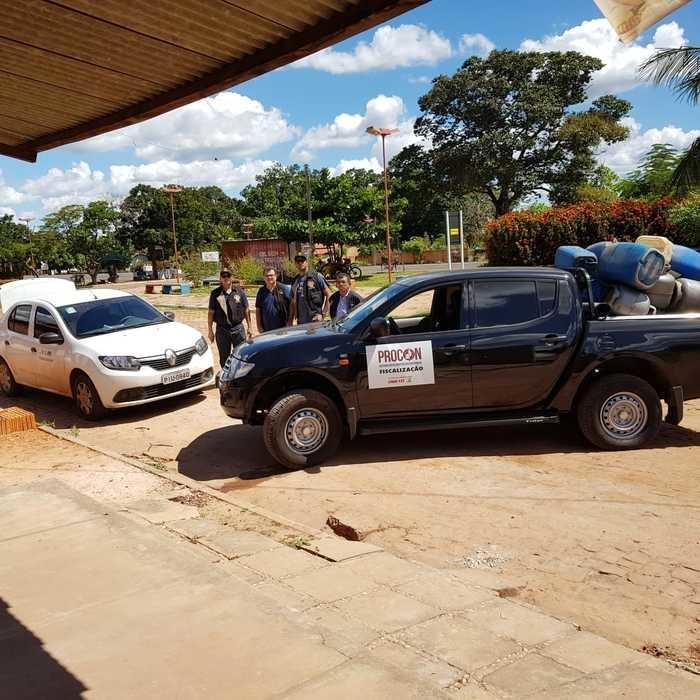 Fiscalização do Procon no interior do Piauí  (Crédito: Divulgação )