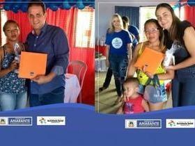 Prefeitura Municipal entrega 200 livros pelo programa Criança Feliz