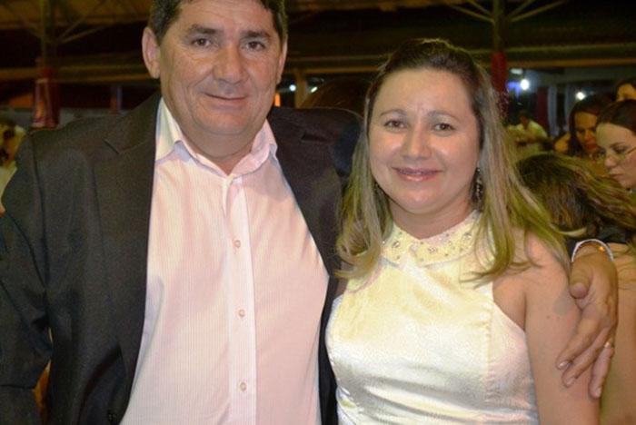 Zé Simão e Gercineide de Sousa (Crédito: Reprodução/Arquivo Pessoal)