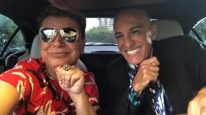 David Brazil e Amin Khader  (Crédito: Reprodução/ Instagram)
