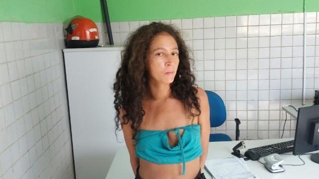 Lorena foi solta após decisão (Crédito: Reprodução/PM)